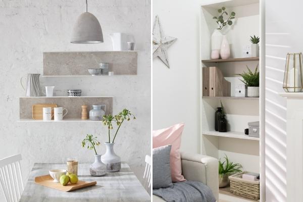 upcycled shelves